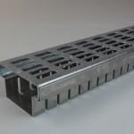 Entwaesserungsrinne verzinkt ER-V 100 mm
